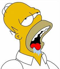 Drooling Homer